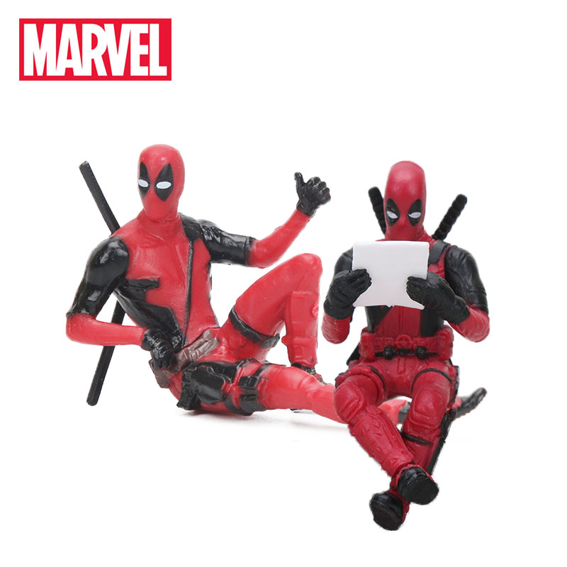 Toy Marvel-Toys Action-Figure Deadpool Sitting Yamaguchi-Style Super-Heros Model-Dolls