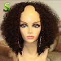 Kinky Curly U Part Wig Brazilian Human Hair U Part Wig For Black Women Unprocessed Virgin Hair Afro Kinky Curly U Part Lace Wigs