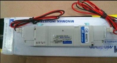 New MINDMAN Solenoid Valve MVSY-156-4E2-DC24V-L-W  coil DC24V мини велотренажер sport elit by 810
