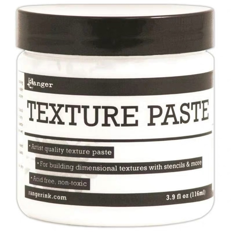 Ranger Texture Paste Transparent Matte, Gloss, Opaque Matte Building Dimensional Texture For Paper, Scrapbooking, Craft