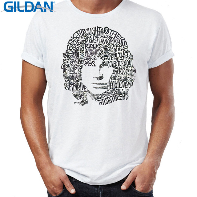 2627ce0b41a Best T Shirts Jim Morrison The Doors Crew Neck Regular Short Sleeve Tee  Shirt For Men