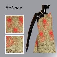 African Lace Fabric 2017 High Quality African French Tulle Lace Fabric Fashion Sequin Fabric For Nigerian Wedding Dress