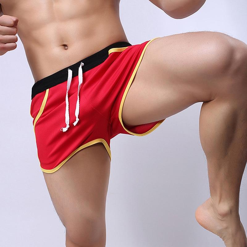 2019 Brand Clothing Men's Casual Shorts Household Man Shorts Pocket G-Strings Jocks Straps Inside Trunks Beach Shorts Quick-dry