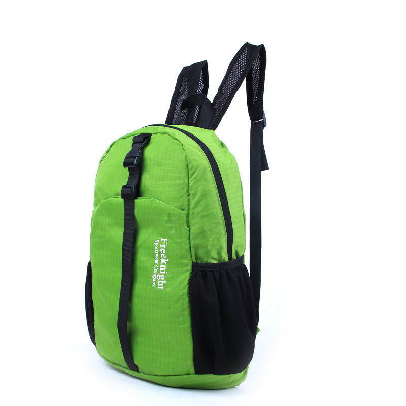 Free Knight 15L Portable Foldable Waterproof Nylon Backpack Shoulder Bags  Ultralight Sports Fitness Camping Hiking Pack Package c73b23414a9fa