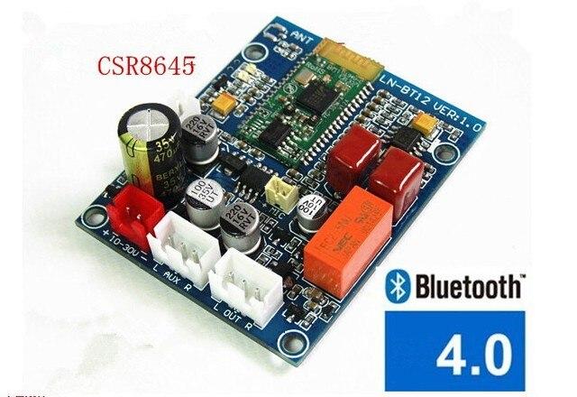 Новый CS8645 Bluetooth 4.0 Аудио Приемник Беспроводной Стерео HiFi Модуль Приемника Бесплатная Доставка с Номером Следа 12002097