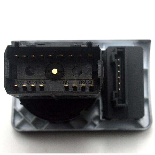Fabryka sprzedaż bezpośrednia przełącznik reflektorów dla Audi A6 C5 1997-2001 4B1 941 531 C/4B1 941 531C stacyjka samochodowa darmowa wysyłka