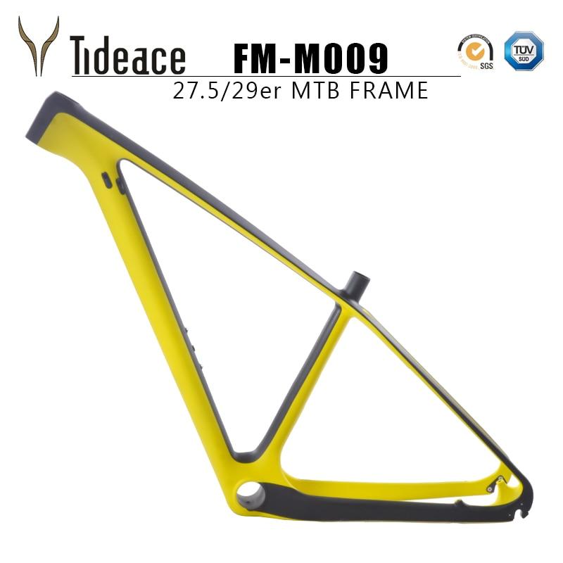 Carbon Frame Bike Tideace 29er Frame Super Light Di2 And Mechanical Frame 142mm Or 135mm