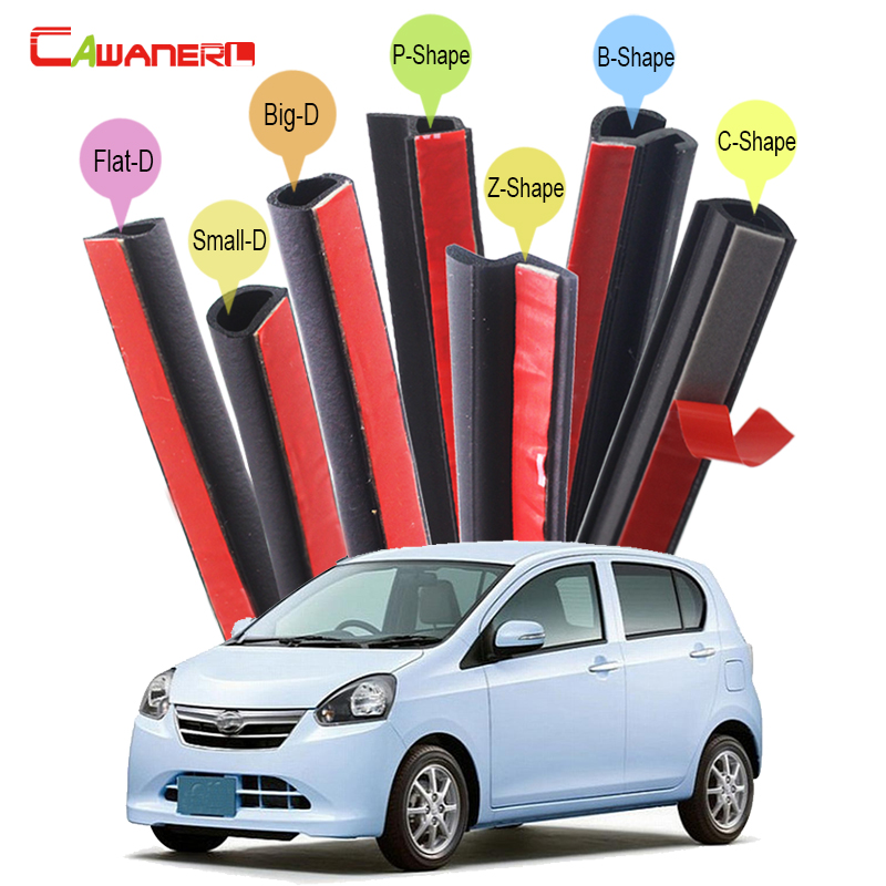 Cawanerl For Daihatsu Mira Move Sirion Sonica Car Hood Trunk Door Rubber Sealing Strip Kit Seal Edge Trim Weatherstrip cawanerl for daihatsu mira move sirion sonica car hood trunk door rubber sealing strip kit seal edge trim weatherstrip