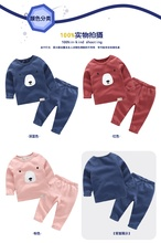 Children's thermal underwear 2016 autumn and winter in the new children's autumn clothes suit bottoming shirt age from 2-9T