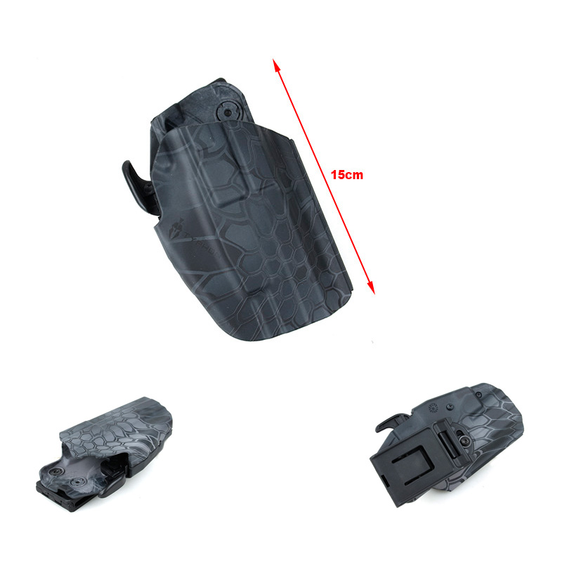 579 Compact Holster 15 CM Typhon Nylon Holster Duty Gear Matched With Belt
