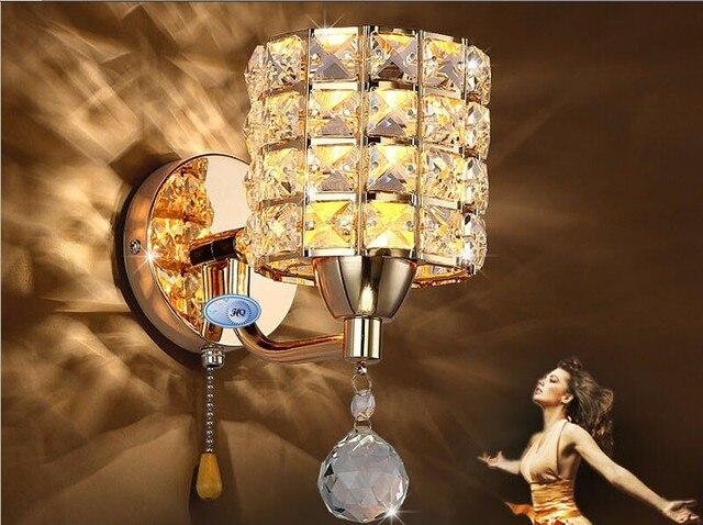 Ac v catena di tirare interruttore lampada da parete di
