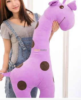 Fancytrader 39'' / 100cm Cute Giant Plush Stuffed Giraffe Toy, 3 Colors Available, Gift for Kids Girls, Free Shipping FT50054