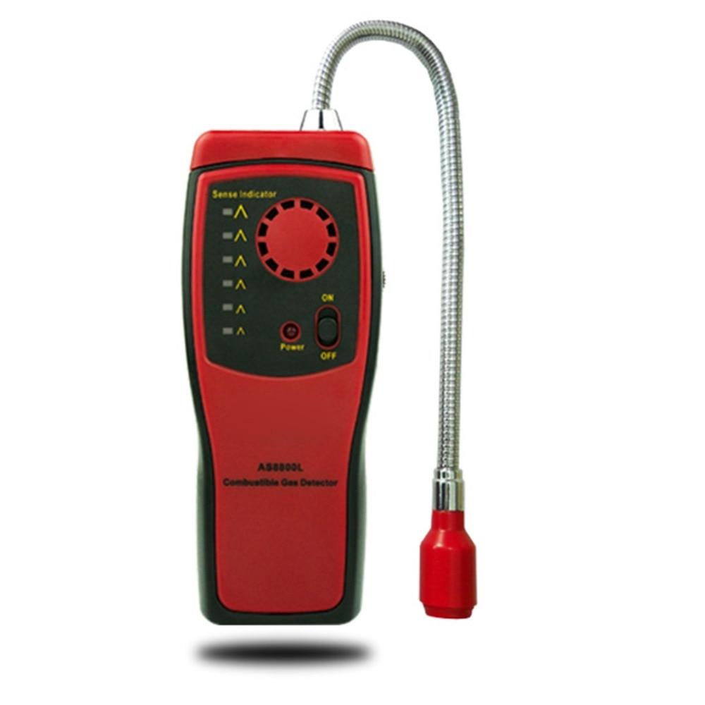 Messung Und Analyse Instrumente Gas Analysatoren Qualifiziert Gas Detector Analyzer Leck Alkoholische Sound Licht Alarm Auto-detektor Brennbaren Natürliche Lage Bestimmen Meter Tester Diagnose