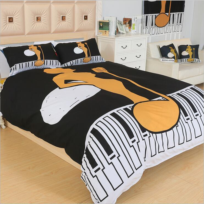 Personalized fashion bedding cotton grind bed 4 sets of 1.8m bed linen bed suite