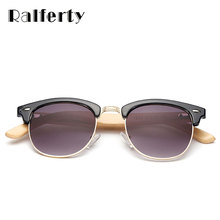 Wooden Bamboo Sunglasses Ralferty Design