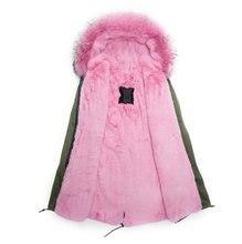 Оптовая 2016 долго стиль шуба, модные мужские зимние пальто, светло-розовый красивые шубы