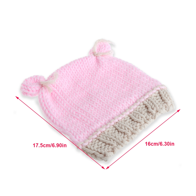2e5ec97666 Simpatico cartone animato per bambini ragazzi ragazze cappelli handmade  infantile cappellini neonato fotografia puntelli in Simpatico cartone  animato per ...