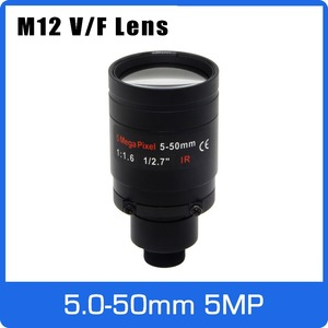 Image 1 - 5Megapixel Varifocal  M12 Mount CCTV Lens 5 50mm Long Distance View 1/2.7 inch Manual Focus and Zoom For 1080P/5MP IP/AHD Camera