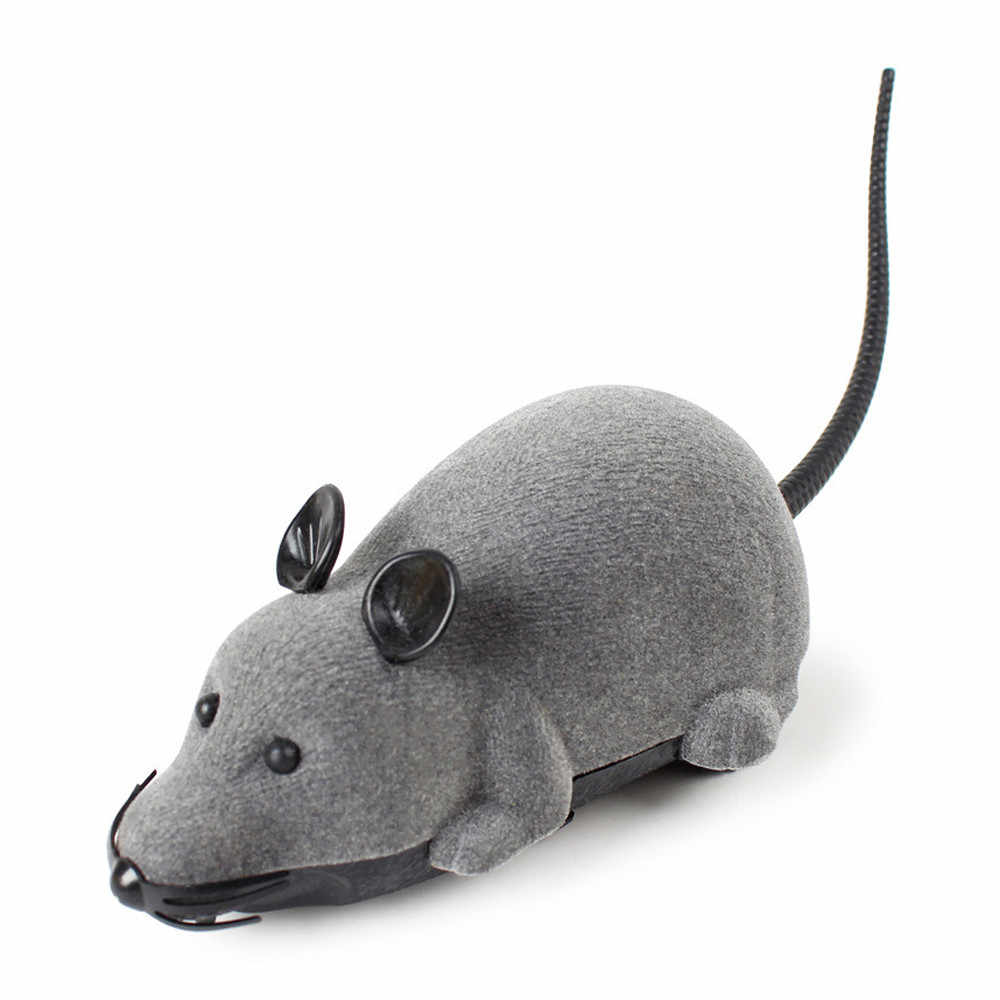 Baby Toys RC Funny Wireless Electronic Remote Control Mouse Rat Pet Toy for Cats Funny Toys For Girl Boy