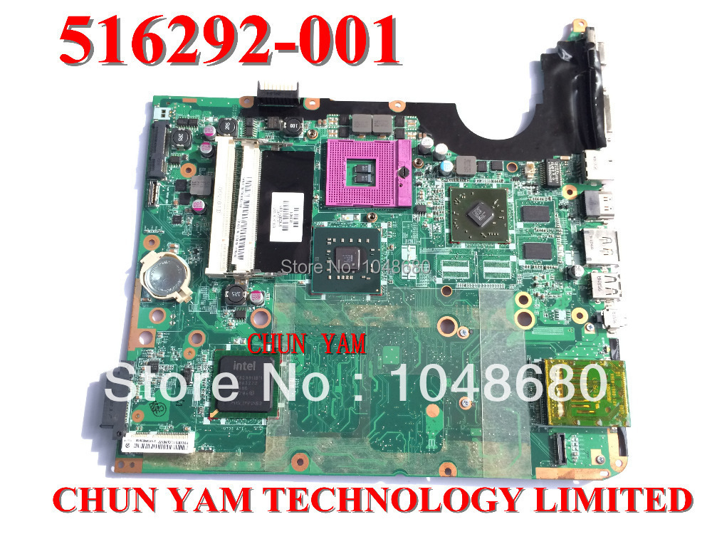 Original Motherboard 516292-001 for HP Pavilion DV7 DV7-2000 Series laptop Notebook System Board 100% Tested 90 Days Warranty 734826 001 laptop notebook motherboard system board 734826 501 for hp pavilion touchsmart 15 15 n a4 5000m series 100% tested