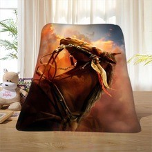 P#128 Custom Horse#37 Home Decoration Bedroom Supplies Soft Blanket size 58×80,50X60,40X50inch SQ01016@H+128