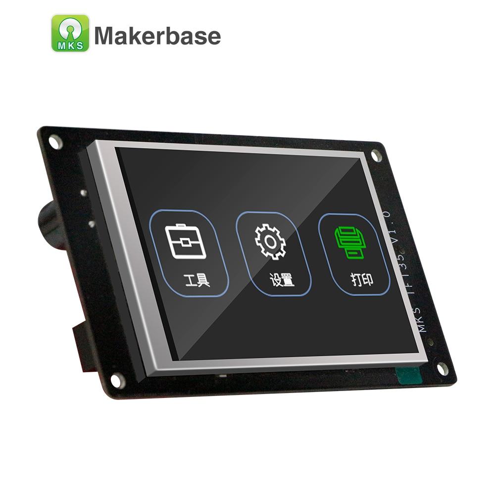 Nouveau 3d imprimante affichage MKS TFT35 V1.0 écran tactile 3.5 pouces LCD panneau 3.5 ''TFT moniteur polychrome creen coloré displayer - 3