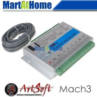 Ethernet 2MHz Mach3 CNC 4 Axis Motion Control Card Resume From Breakpoint For Lathes Mills Routers