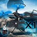 Original X1 RC Drone JJRC Con D1806-2280KV Motor Sin Escobillas Helicóptero DEL RC 2.4G 4CH 6-Axis RC Quadcopter RTF