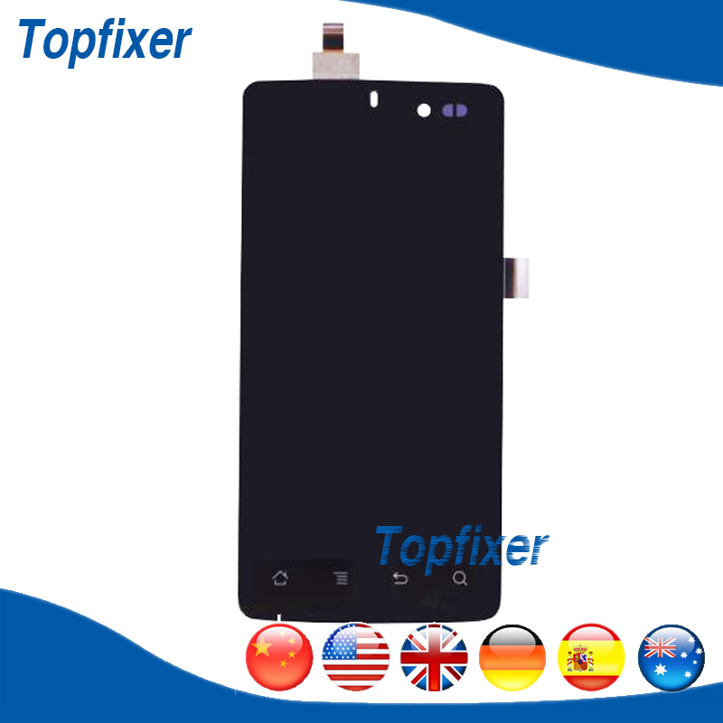 LCD Assembly For Highscreen Omega Q LCD Display Touch Screen Panel Digitizer 1PC/Lot