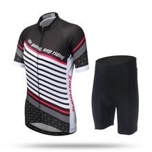 2017 New Couple Cycling Jersey Mountain Ropa Ciclismo Men Women Bike Bicycle Short Sleeve Shirt Bib Shorts