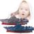 $ NUMBER CANALES de Alta Velocidad Barco Carreras RC Eléctrico de Radio Control Kids Niños Juguete 3318
