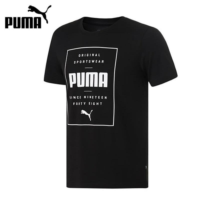 Original New Arrival  PUMA Box PUMA Tee  Mens T-shirts short sleeve SportswearOriginal New Arrival  PUMA Box PUMA Tee  Mens T-shirts short sleeve Sportswear