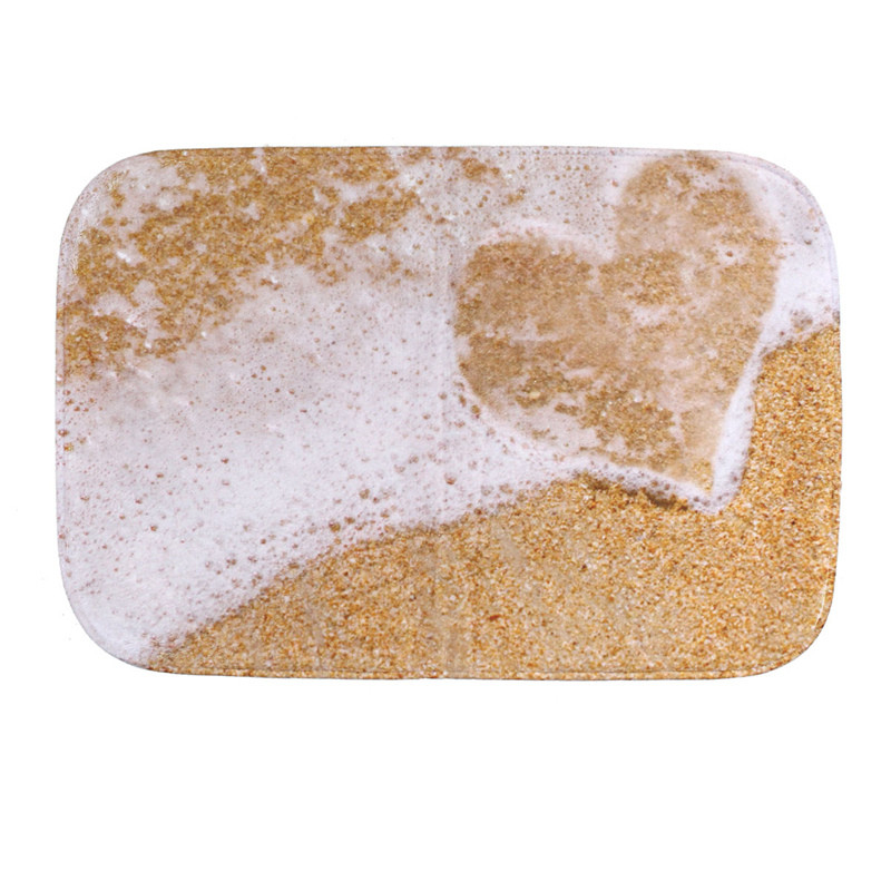 Attractive Beach Bathroom Rugs