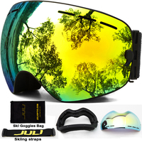 Ski Goggles Winter Snow Sports Snowboard Goggles With Anti Fog UV Protection For Men Women Youth