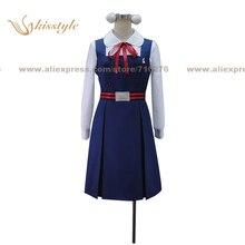 Kisstyle Fashion Tamako Market Tamako Kitashirakawa Uniform COS Clothing Cosplay Costume,Customized Accepted