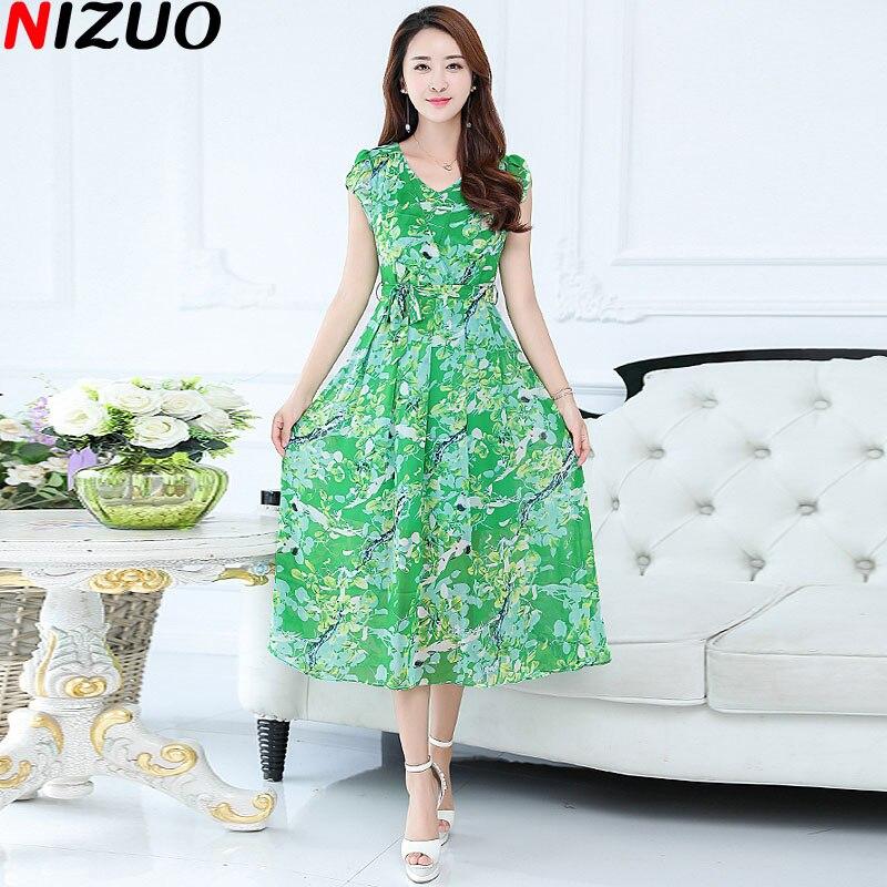 Модные зеленые платья 2017 года