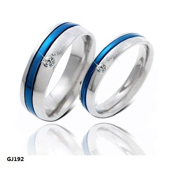 fashion mens jewelry never fade stainless steel skull ring gold filled blue black skeleton pattern man biker rings for men gift - Blue Wedding Ring