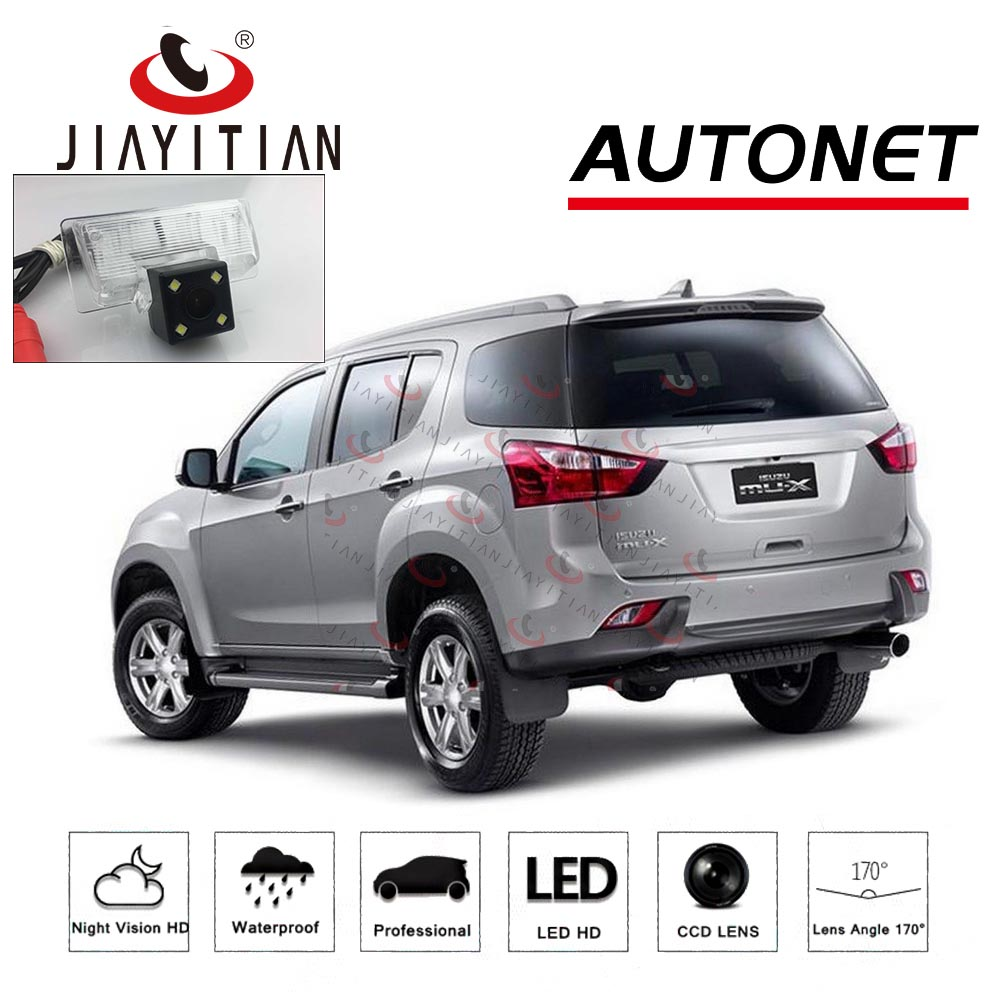JiaYiTian rear view camera for Isuzu MU-X mux RF20 RF10 SUV CCD/Night Vision/Backup Camera license plate camera Reverse CameraJiaYiTian rear view camera for Isuzu MU-X mux RF20 RF10 SUV CCD/Night Vision/Backup Camera license plate camera Reverse Camera