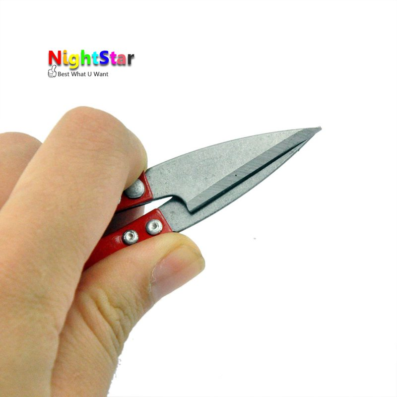 3pcs Multicolor Useful Trimming Scissors Nippers U Shape Clippers Sewing Embroidery Thrum Yarn Stainless Steel Scissors Nipper Garden Hand Tools