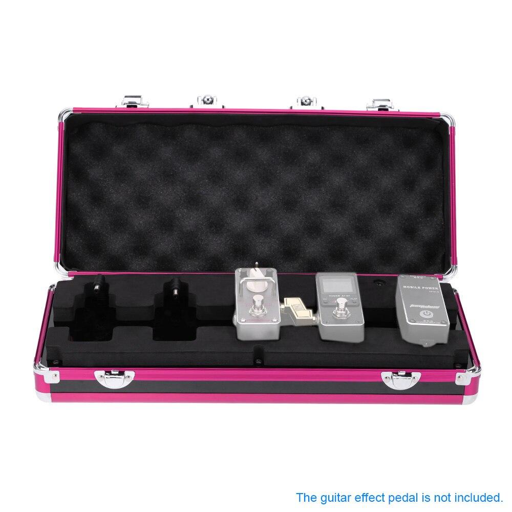 aroma apb 3 guitar effect pedal carry case box guitar pedal total metal locking case guitar. Black Bedroom Furniture Sets. Home Design Ideas