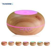 Air Humidifier Essential Oil Diffuser LED Aroma Diffuser Lamp Aromatherapy Large Capacity Wood Grain Ultrasonic Aroma