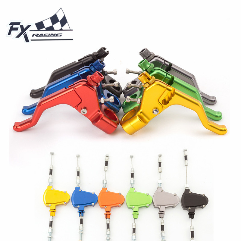 FXCNC 7/8 22mm Motorcycle Stunt Clutch Lever Pull Cable System For Yamaha YZF R25 R3 R6 MT25 MT-03 FZ-09 MT09 WR250R 2014 - 2016 fxcnc 7 8 22mm motorcycle dirt stunt