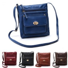 New Women PU Leather Handbags Fashion Vintage Shoulder Bags Messenger Bag BS88
