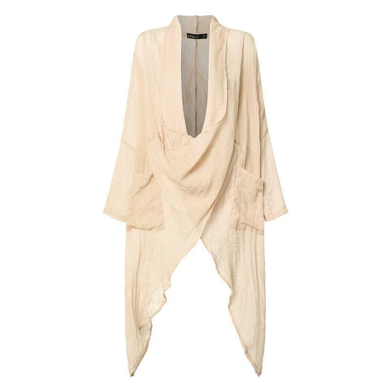 Celmia moda feminina blusas senhoras camisa longa casual capuz pescoço manga longa solto assimétrico verão blusas femininas plus size