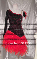 KAKA L130374,women Latin dance wear,girls salsa competition dress tango samba rumba chacha dance dress,dance dress latin