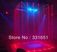 4 pçs/lote LED RGBW 4IN1 Pinspot Luz led Com Função de Zoom e DMX 6 Canais pinspot light led pinspot light rgbw 4in1 -