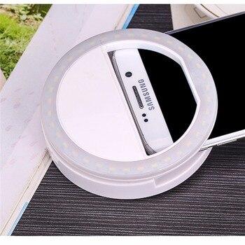 XIXI Makeup Mirror LED Mobile Phone light Artifact Pro Lady 36Pcs LED Beads Photography Light Beauty Tools For Photo fill light 3