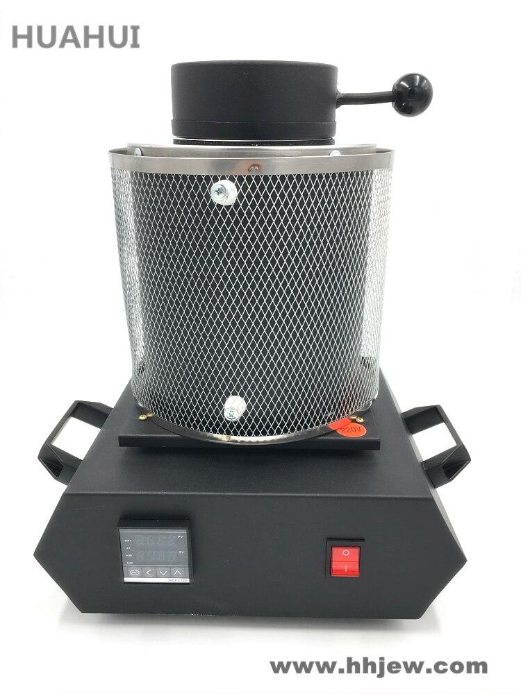 Elettrico di Trasporto libero Gioielli Forno di Fusione 1 kg/2 kg/3 kg, Alluminio, Rame, oro, Piombo, Argento, di fusione A Induzione ovan forno