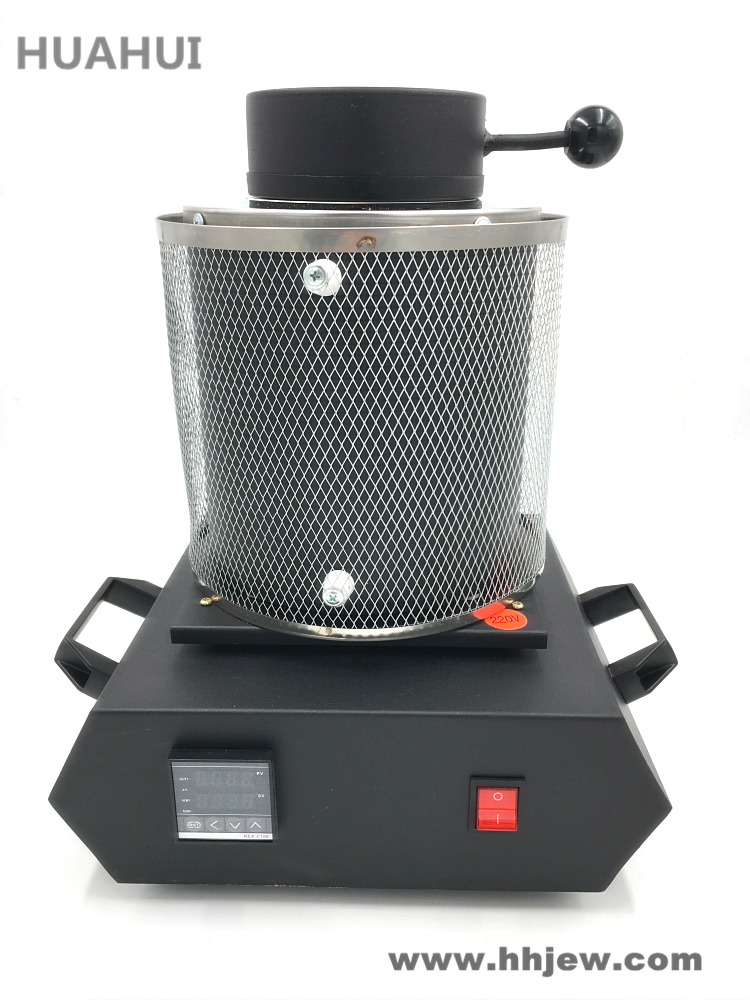 Envío libre eléctrico horno de fusión de la joyería 1 kg/2 kg/3 kg, aluminio, cobre, oro, plomo, plata, fundición de inducción ovan horno
