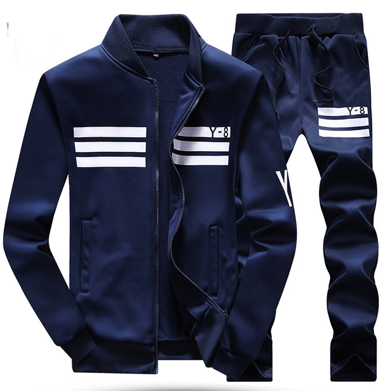 ФОТО 6XL 7XL 8XL Big Size Men Tracksuit 2016 New Mens Sport Suit Winter Gym Jogger Training Clothing Breathable Cotton Running Set